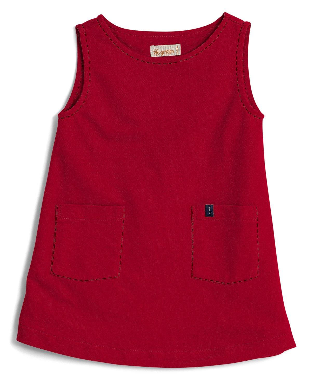 f89a5d4f6 Vestido Sem Manga Pipa Vermelho Toddler - Green. Toque para expandir.  Clique na imagem para ampliar