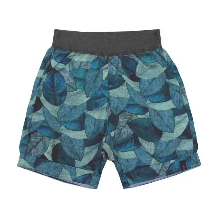 254e66a11 ... Conjunto Bermuda Estampa Nuances e Camiseta Manga Curta Infantil - Green