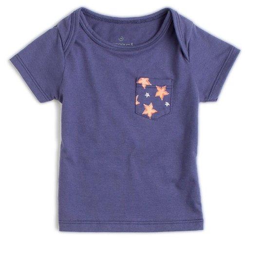 Camiseta BB Manga Curta Bolso Carambolas - Reserva Mini