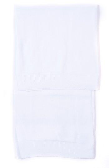 Manta Branca Tricot 100% Algodão - Verivê Baby