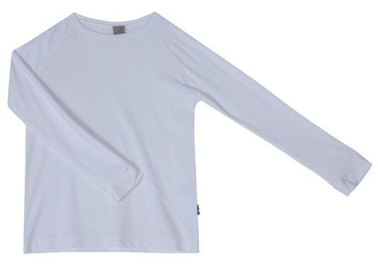Camiseta Manga Longa Raiz Básica Branco - Green