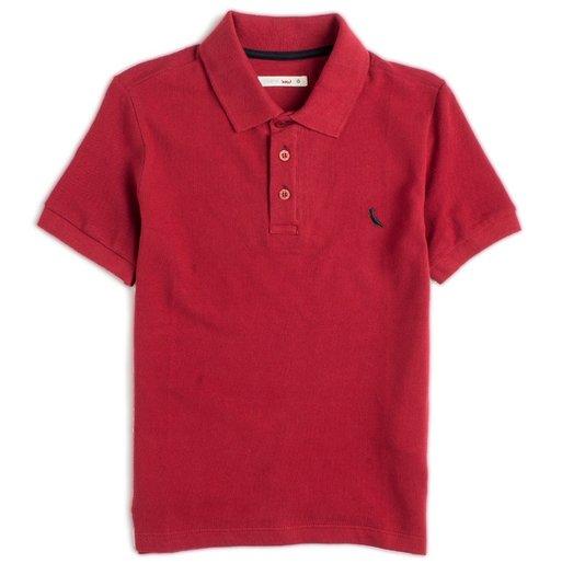 Camiseta Polo Básica Manga Curta Bordo Infantil - Reserva Mini