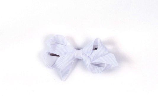Laço de Tecido Tamanho P 5cm Branco - Gumii