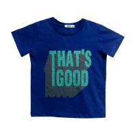 Camiseta Manga Curta Marinho That's Good Infantil - Tyrol