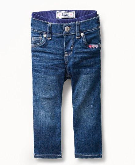 Calça Jeans Brandi Skinny com Elástico Cintura Infantil - Levi's