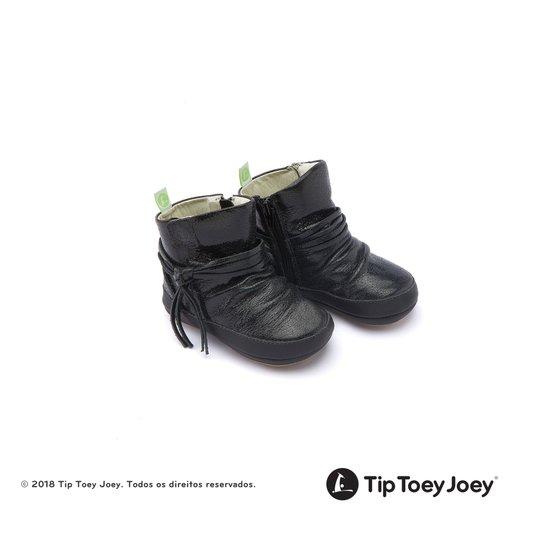 Bota Ridgey Black Shine 17 ao 22 Bebê - Tip Toey Joey