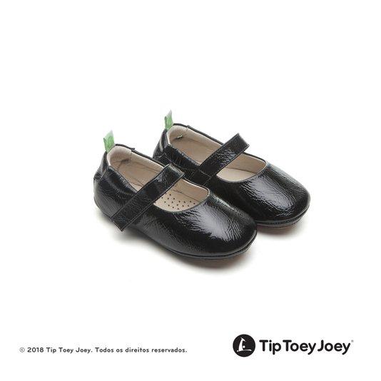 Sapatilha Dolly Patent Black 17 ao 22 Bebê - Tip Toey Joey