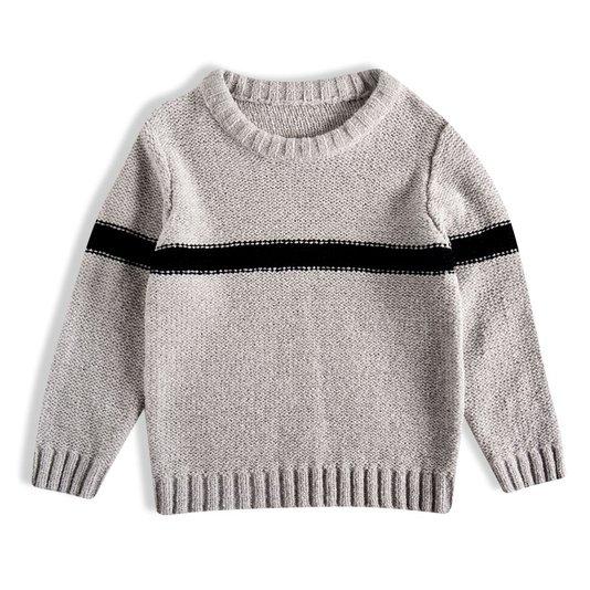 Blusão Tricot Cinza Infantil