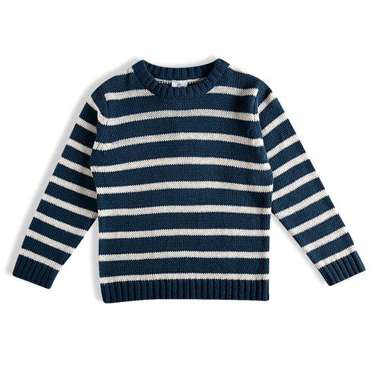 Blusão Tricot Marinho Infantil