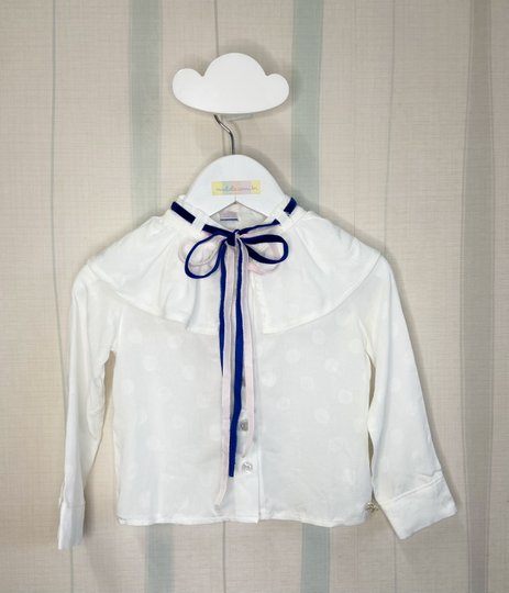 Camisa Mirian Branca Infantil