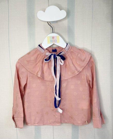 Camisa Mirian Rosa Infantil