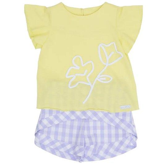 Conjunto Curto Mini Provence Toddler - Green