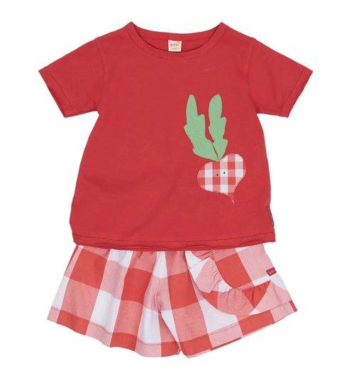 Conjunto Curto Picnic Toddler - Green