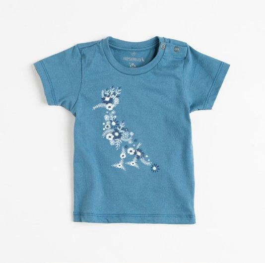 Camiseta Manga Curta BB Pica Pau Tintas - Reserva Mini