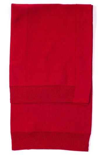 Manta Vermelha Tricot 100% Algodão - Verivê Baby