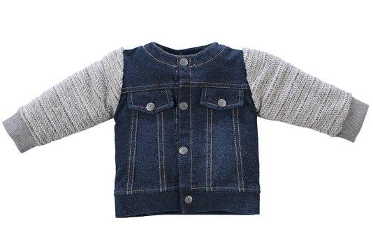 Jaqueta Jeans Teddys Bebê - Grow Up