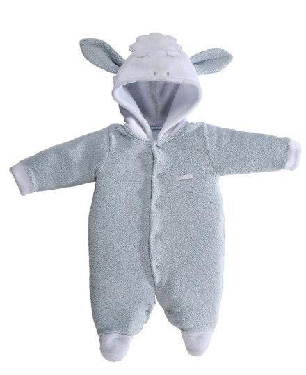 Macacão Longo Ovelha Azul Bebê e Infantil - Grow Up