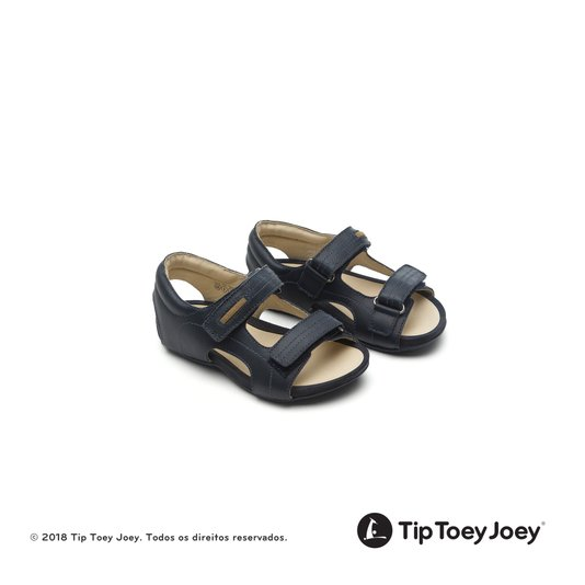 Sandália Little Dong Navy Azul Marinho 22 ao 26 Infantil - Tip Toey Joey