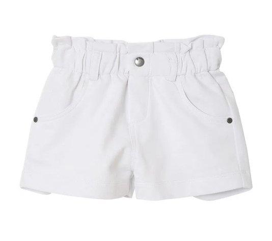Shorts Clochard Branco Toddler
