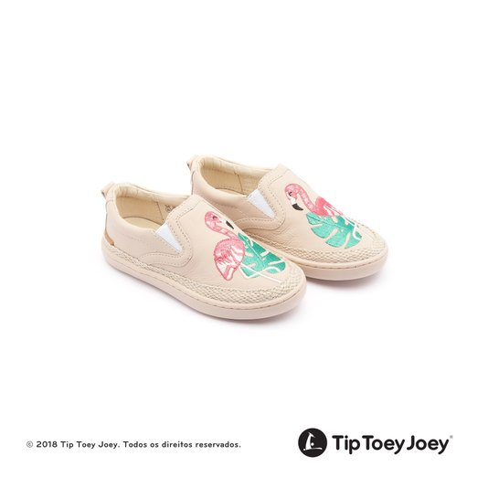 Tênis Slip-On Flamingo Little Straw Yogurt 22 ao 26 Infantil - Tip Toey Joey