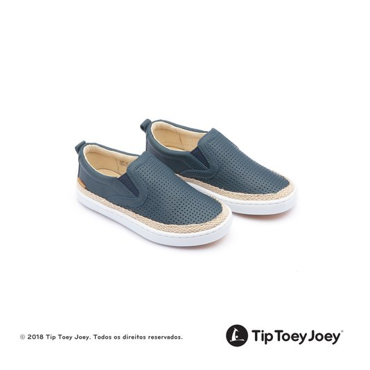 Tênis Slip-On Little Straw Laguna Hole 22 ao 26 Infantil - Tip Toey Joey