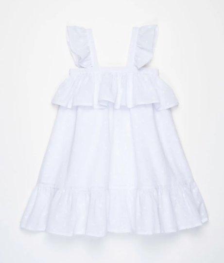 Vestido Chloe Branco Infantil