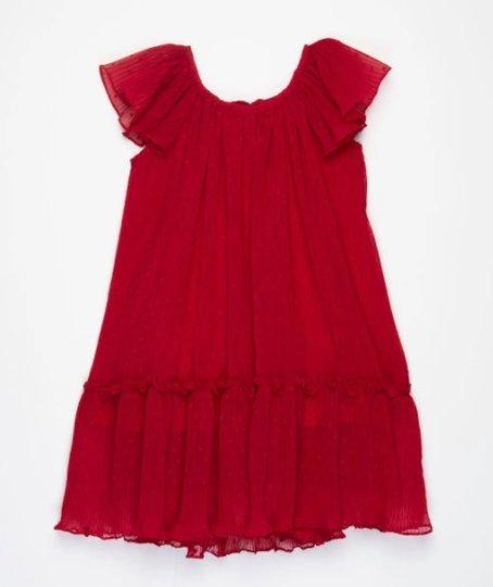 Vestido Clair Vermelho Infantil