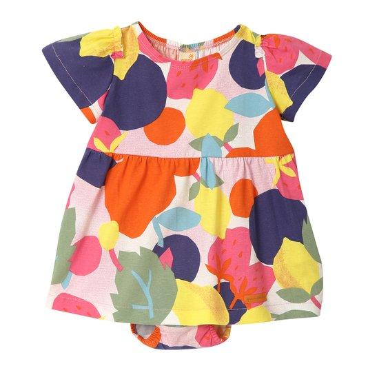 Vestido Curto Tutti Frutti Bebê