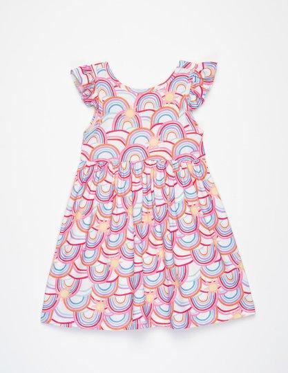 Vestido Mel Arco Íris Infantil