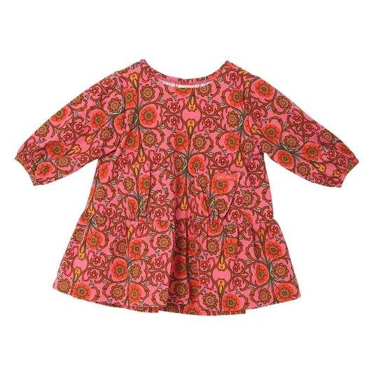 Vestido Minimal Rosa Bebê