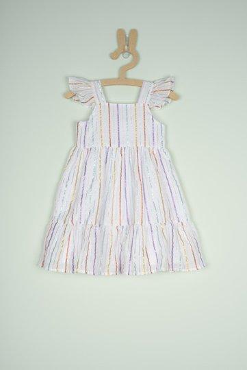 Vestido Rafaela Listras Bebê - Que te Encante