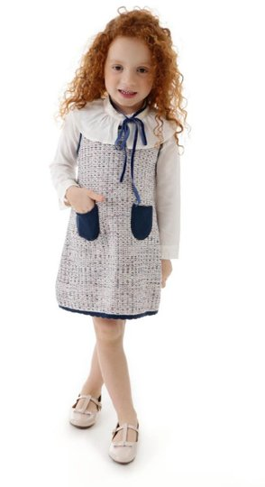 Vestido Tricot Carolina Infantil