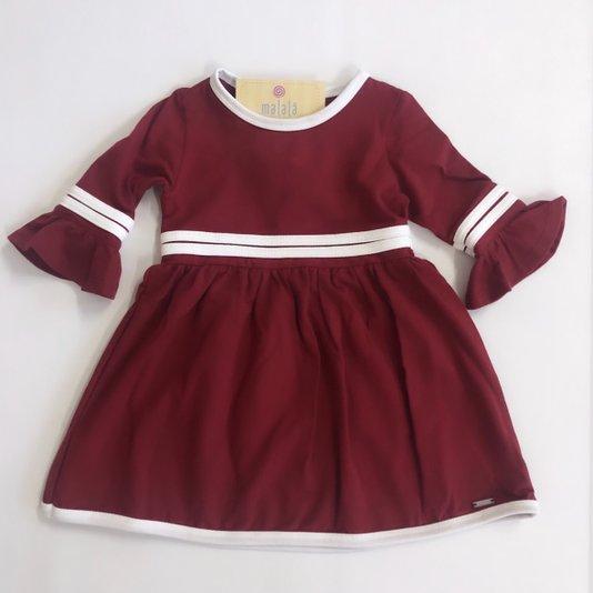 Vestido Vermelho Infantil - Beabá