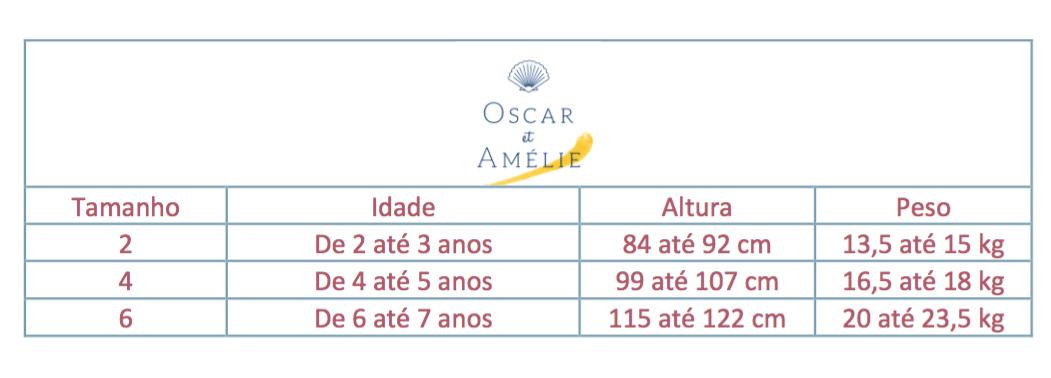 Vestido Manga Curta Navy Listrado Azul Detalhe Dourado - Oscar Et Amélie