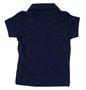 Camiseta Polo Manga Curta Basic Cotton Azul Marinho Bebê - Reserva Mini