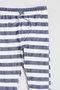 Calça Listra Texturizada Marinho e Off White Bebê - Reserva Mini