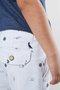 Bermuda Linho Náutica Casual Branca Infantil - Reserva Mini