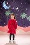 Vestido Sadi Veludo Infantil - Que te Encante