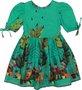 Vestido Verde Infantil - Precoce